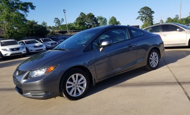 2012 Used Honda Civic Coupe 2dr Automatic EX At Car Guys Serving Houston,  TX, IID 17562239