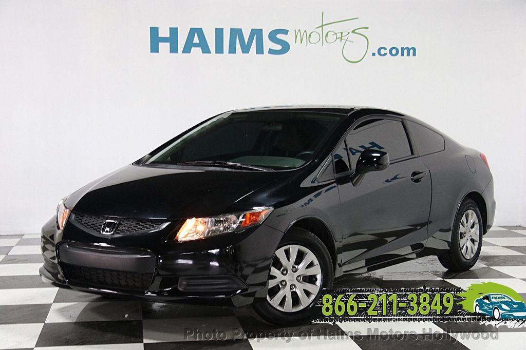 2012 Honda Civic Coupe 2dr Automatic LX   15226983   0