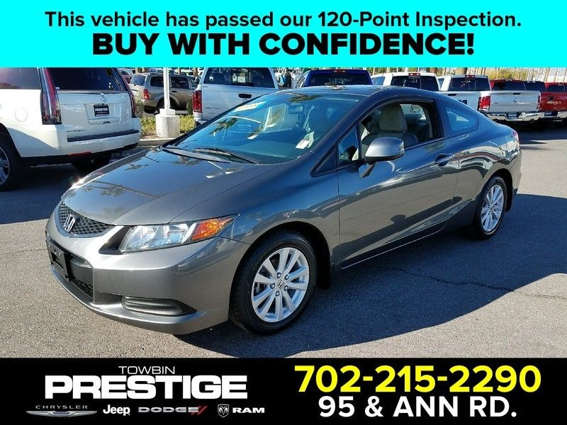 2012 Honda Civic Coupe EX - 17084454 - 0