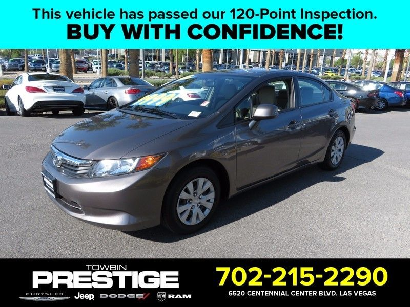 2012 Honda Civic Sedan LX - 16816596 - 0
