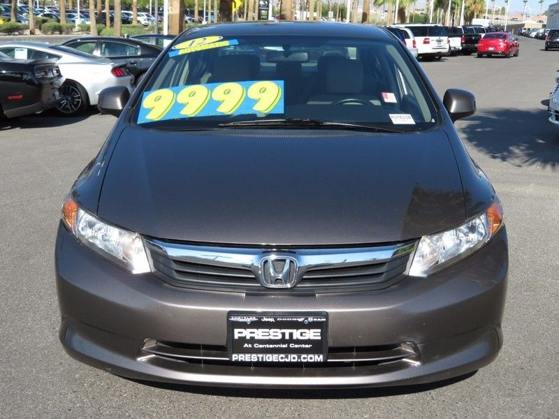 2012 Honda Civic Sedan LX - 16816596 - 1