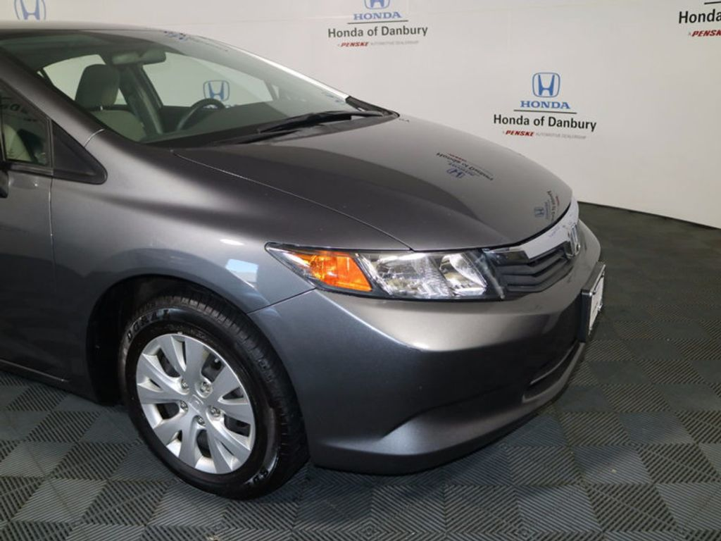 2012 Honda Civic Sedan LX - 16824676 - 1
