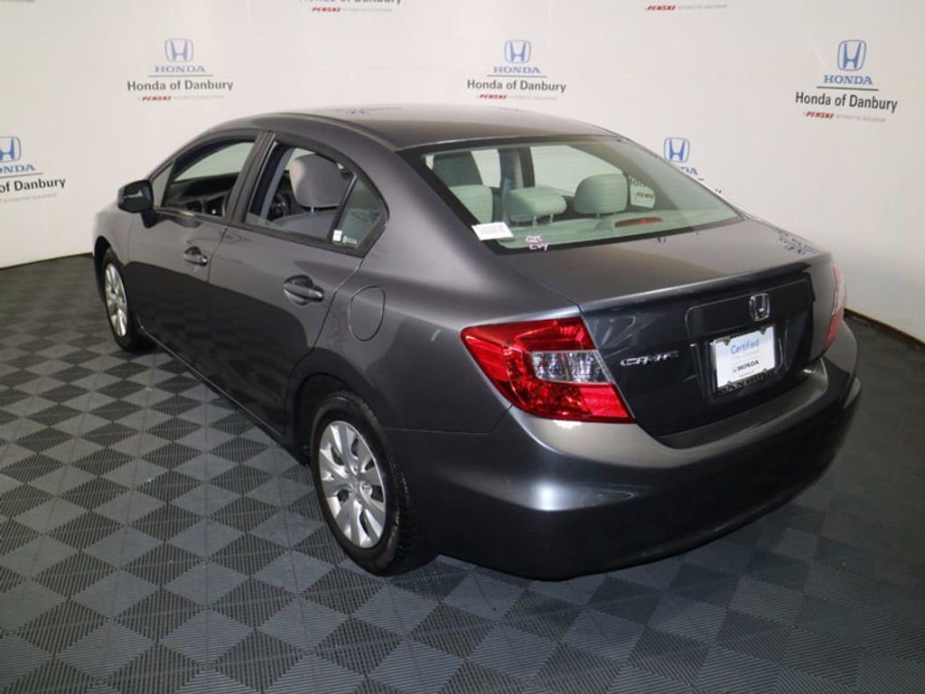 2012 Honda Civic Sedan LX - 16824676 - 6