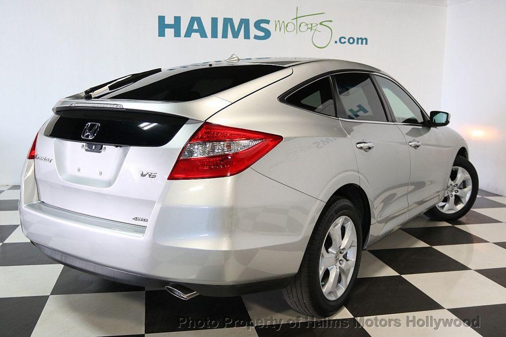 2012 Used Honda Crosstour 4wd V6 5dr Exl At Haims Motors Serving Rhhaimsmotors: Honda Crosstour Spare Tire Location At Gmaili.net