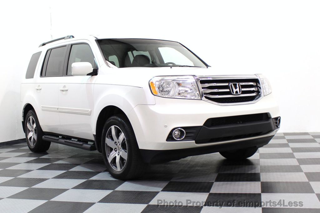 2012 Honda Pilot CERTIFIED PILOT 4WD TOURING DVD CAMERA NAVIGATION    17517231   16