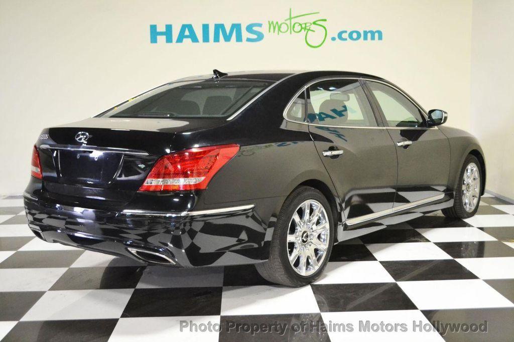 2012 Used Hyundai Equus 4dr Sedan Signature At Haims Motors Serving Fort Lauderdale Hollywood