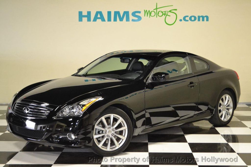 2012 Used Infiniti G37 Coupe 2dr Rwd At Haims Motors Serving Fort