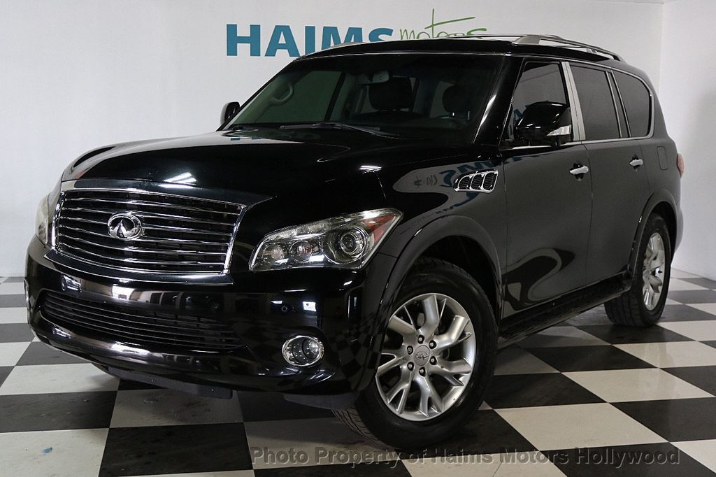 2012 used infiniti qx56 2wd 4dr 7 passenger at haims. Black Bedroom Furniture Sets. Home Design Ideas