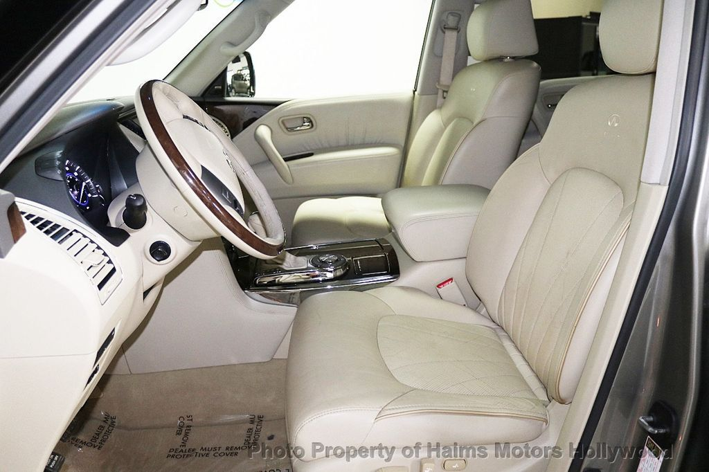 2012 INFINITI QX56 2WD 4dr 7-passenger - 18618526 - 21