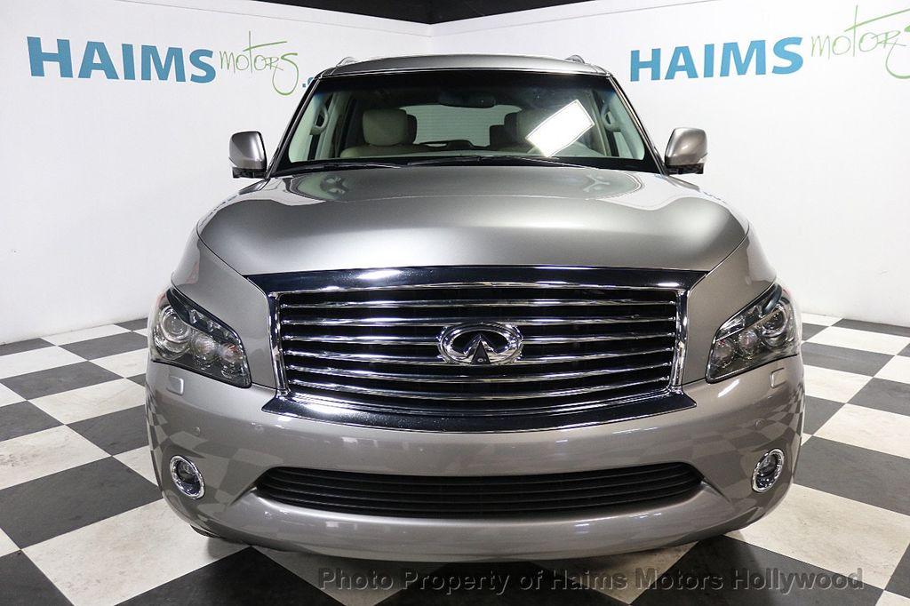 2012 INFINITI QX56 2WD 4dr 7-passenger - 18618526 - 2