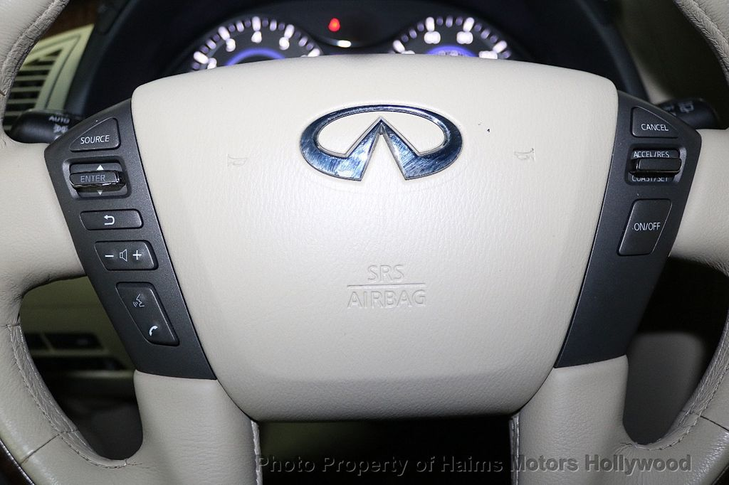 2012 INFINITI QX56 2WD 4dr 7-passenger - 18618526 - 33