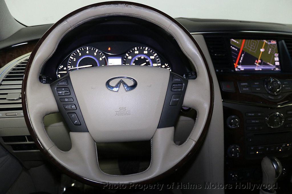 2012 INFINITI QX56 2WD 4dr 7-passenger - 18618526 - 34