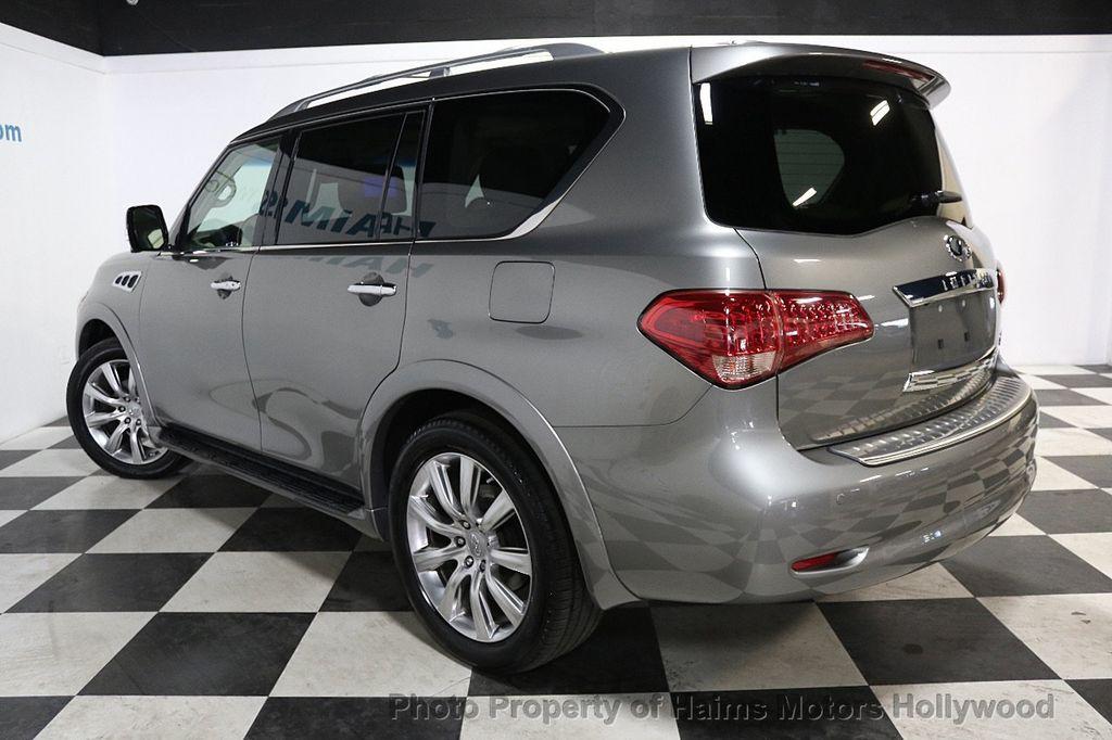 2012 INFINITI QX56 2WD 4dr 7-passenger - 18618526 - 4