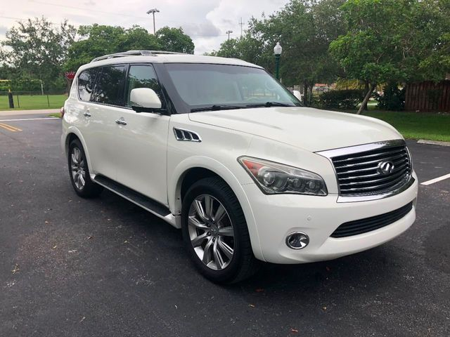 2012 INFINITI QX56 2WD 4dr 7-passenger - Click to see full-size photo viewer