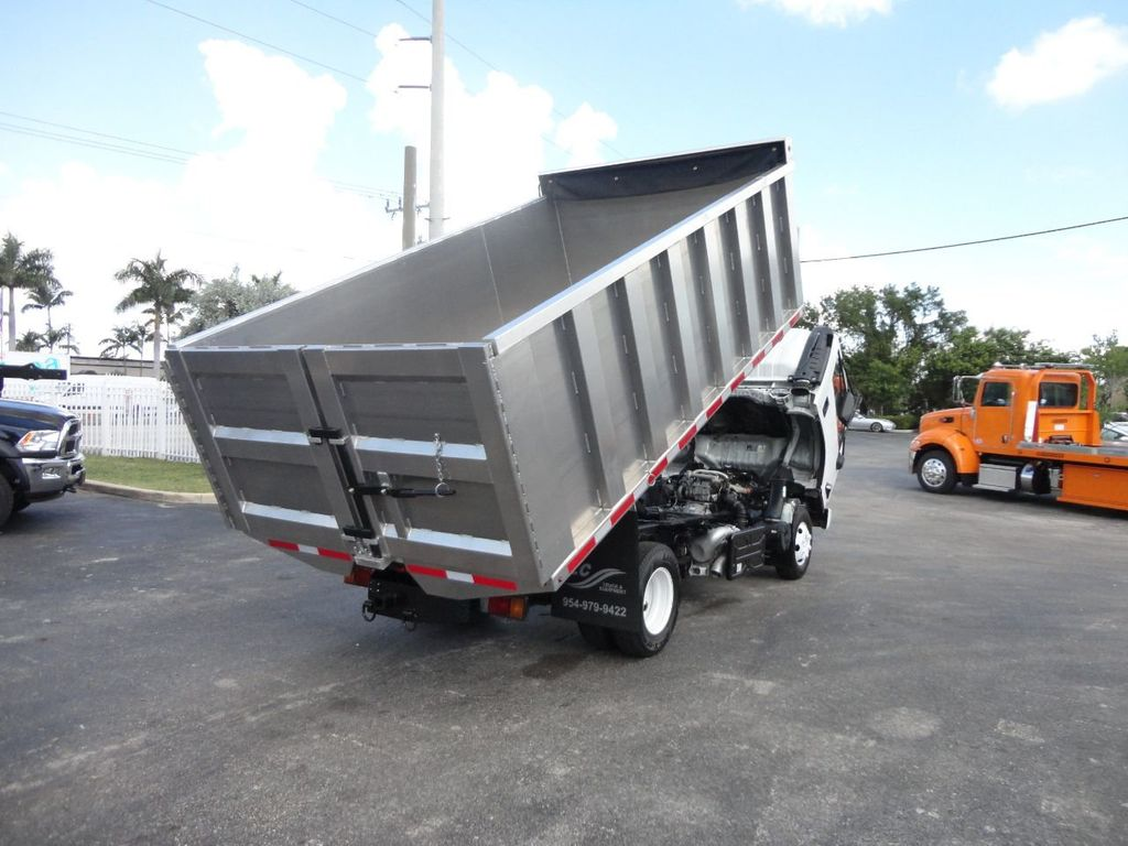 2012 Isuzu NPR 14FT ALUM TRASH DUMP TRUCK...NEW AD FAB DUMP BODY. - 18113607 - 26