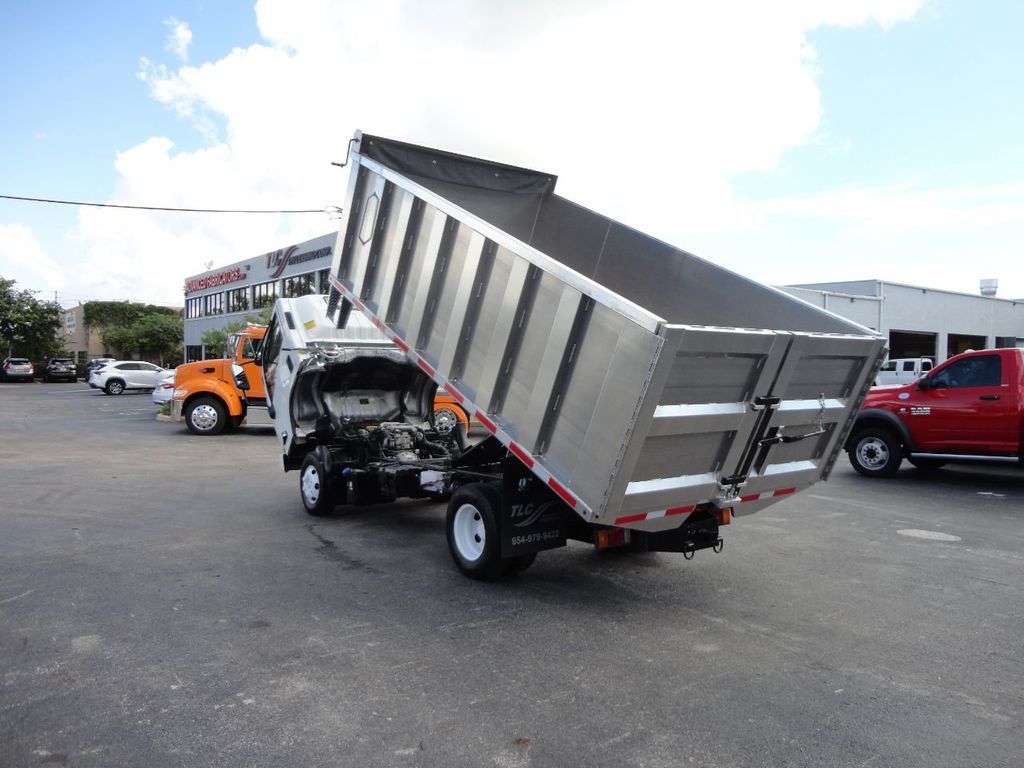2012 Isuzu NPR 14FT ALUM TRASH DUMP TRUCK...NEW AD FAB DUMP BODY. - 18113607 - 28