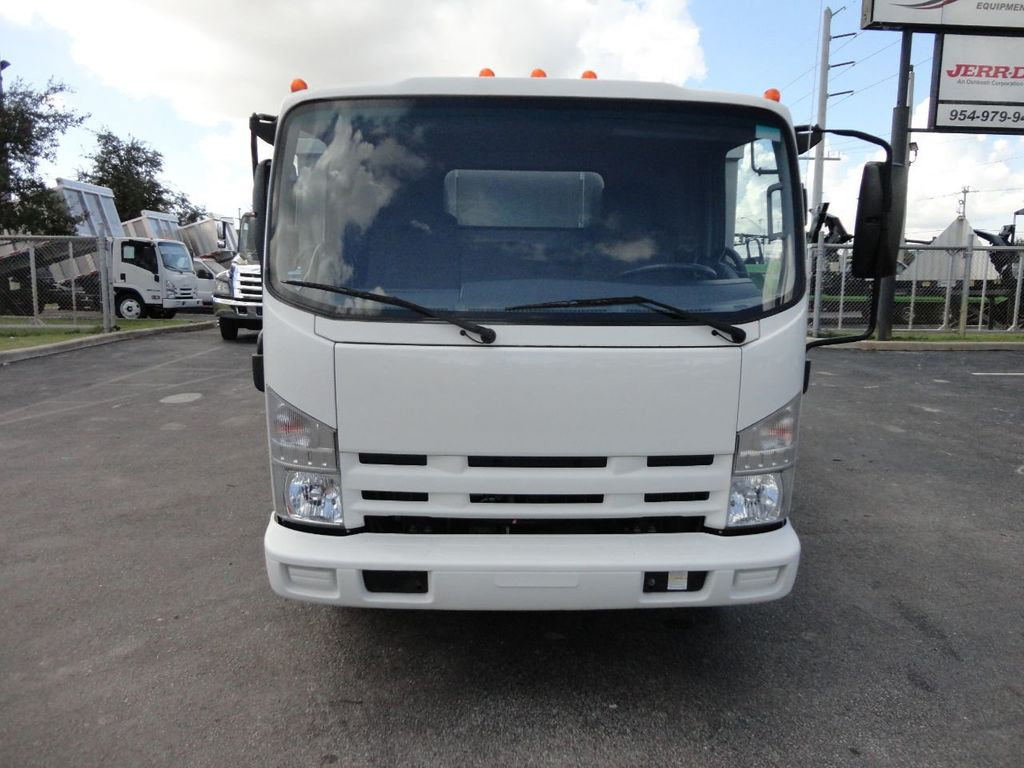 2012 Isuzu NPR 14FT ALUM TRASH DUMP TRUCK...NEW AD FAB DUMP BODY. - 18113607 - 4