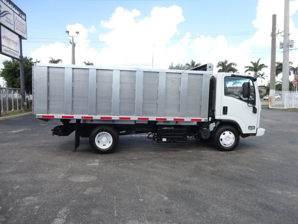 2012 Isuzu NPR 14FT ALUM TRASH DUMP TRUCK...NEW AD FAB DUMP BODY. - 18113607 - 5