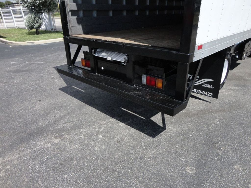 2012 Isuzu NPR 14FT DRY BOX CARGO BOX TRUCK WITH PULL OUT RAMP - 17964349 - 25