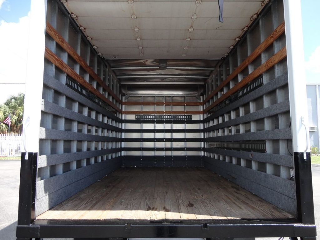 2012 Isuzu NPR 14FT DRY BOX CARGO BOX TRUCK WITH PULL OUT RAMP - 17964349 - 26