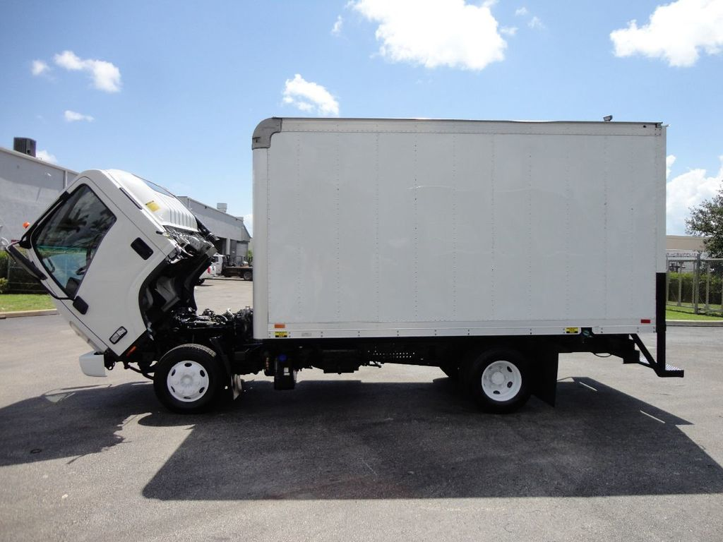 2012 Isuzu NPR 14FT DRY BOX CARGO BOX TRUCK WITH PULL OUT RAMP - 17964349 - 31