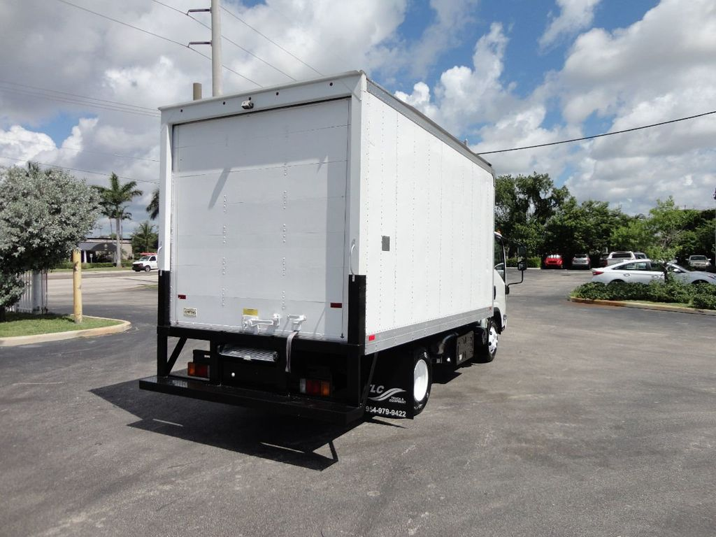 2012 Isuzu NPR 14FT DRY BOX CARGO BOX TRUCK WITH PULL OUT RAMP - 17964349 - 5