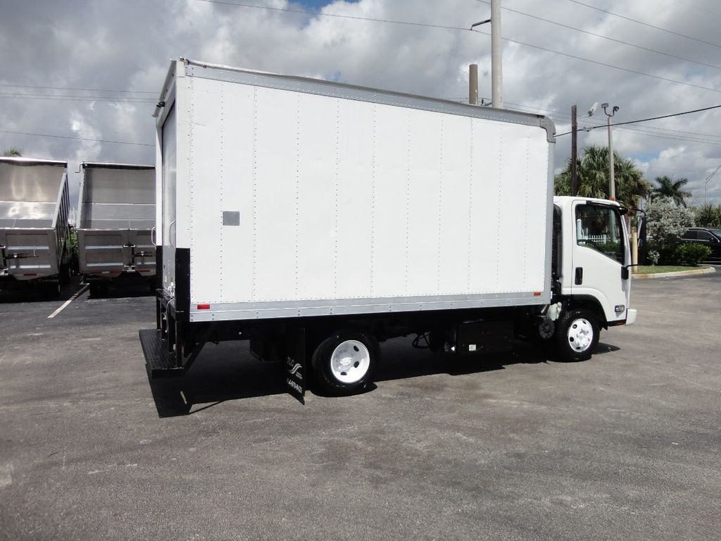 2012 Isuzu NPR 14FT DRY BOX CARGO BOX TRUCK WITH PULL OUT RAMP - 17964349 - 6