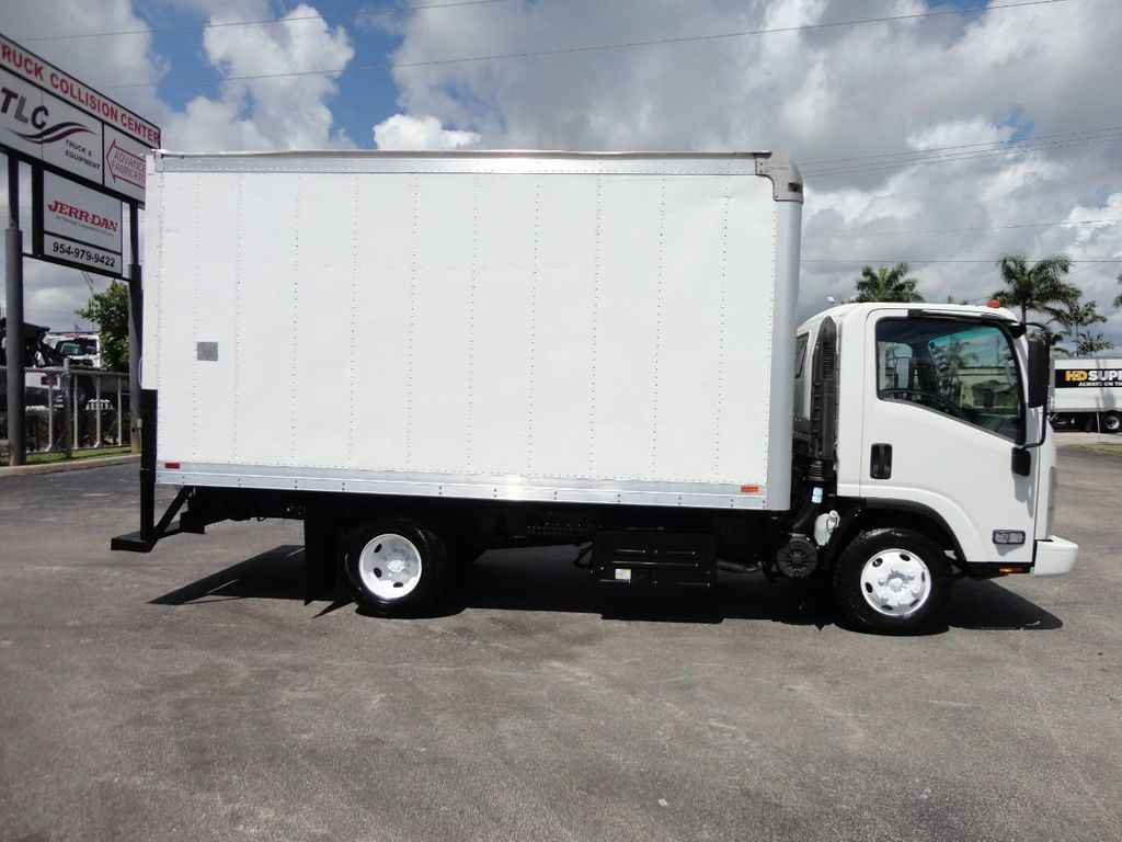 2012 Isuzu NPR 14FT DRY BOX CARGO BOX TRUCK WITH PULL OUT RAMP - 17964349 - 7