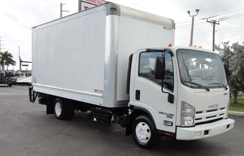 2012 Isuzu NPR HD 16FT DRY BOX.. TUCK UNDER ALUMINUM LIFTGATE - 16156714 - 1