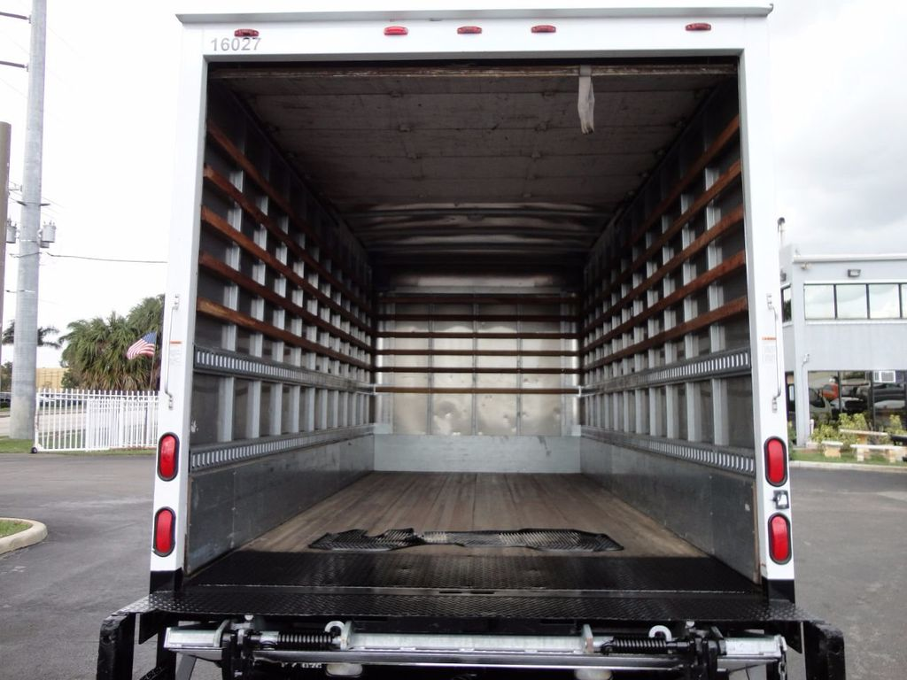 2012 Isuzu NPR HD 16FT DRY BOX.. TUCK UNDER ALUMINUM LIFTGATE - 16156714 - 22
