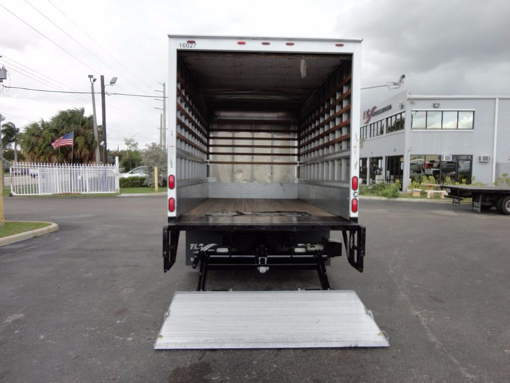 2012 Isuzu NPR HD 16FT DRY BOX.. TUCK UNDER ALUMINUM LIFTGATE - 16156714 - 26