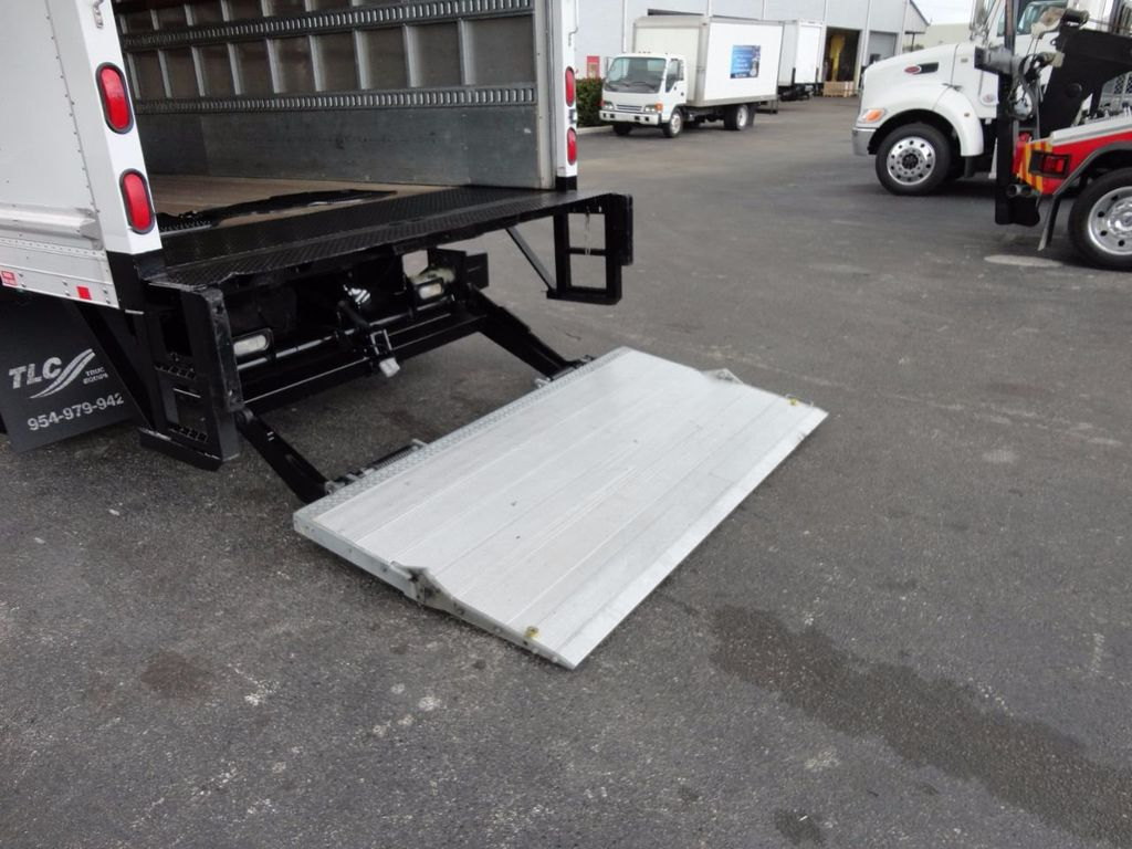 2012 Isuzu NPR HD 16FT DRY BOX.. TUCK UNDER ALUMINUM LIFTGATE - 16156714 - 27