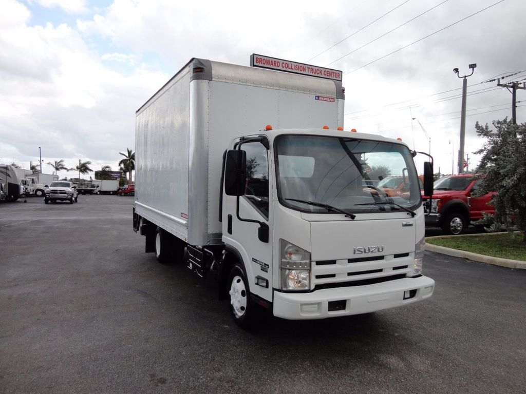 2012 Isuzu NPR HD 16FT DRY BOX.. TUCK UNDER ALUMINUM LIFTGATE - 16156714 - 2
