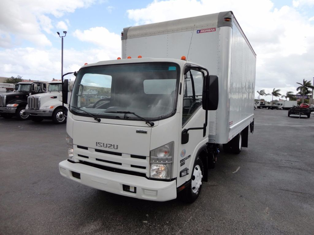 2012 Isuzu NPR HD 16FT DRY BOX.. TUCK UNDER ALUMINUM LIFTGATE - 16156714 - 4
