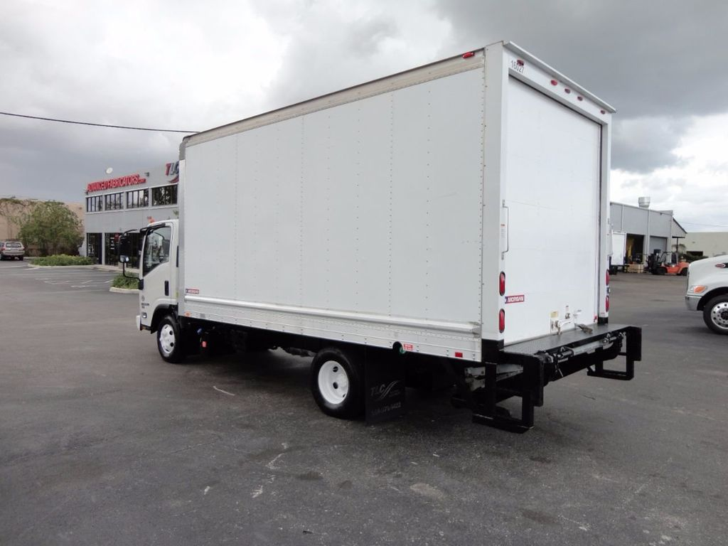 2012 Isuzu NPR HD 16FT DRY BOX.. TUCK UNDER ALUMINUM LIFTGATE - 16156714 - 6