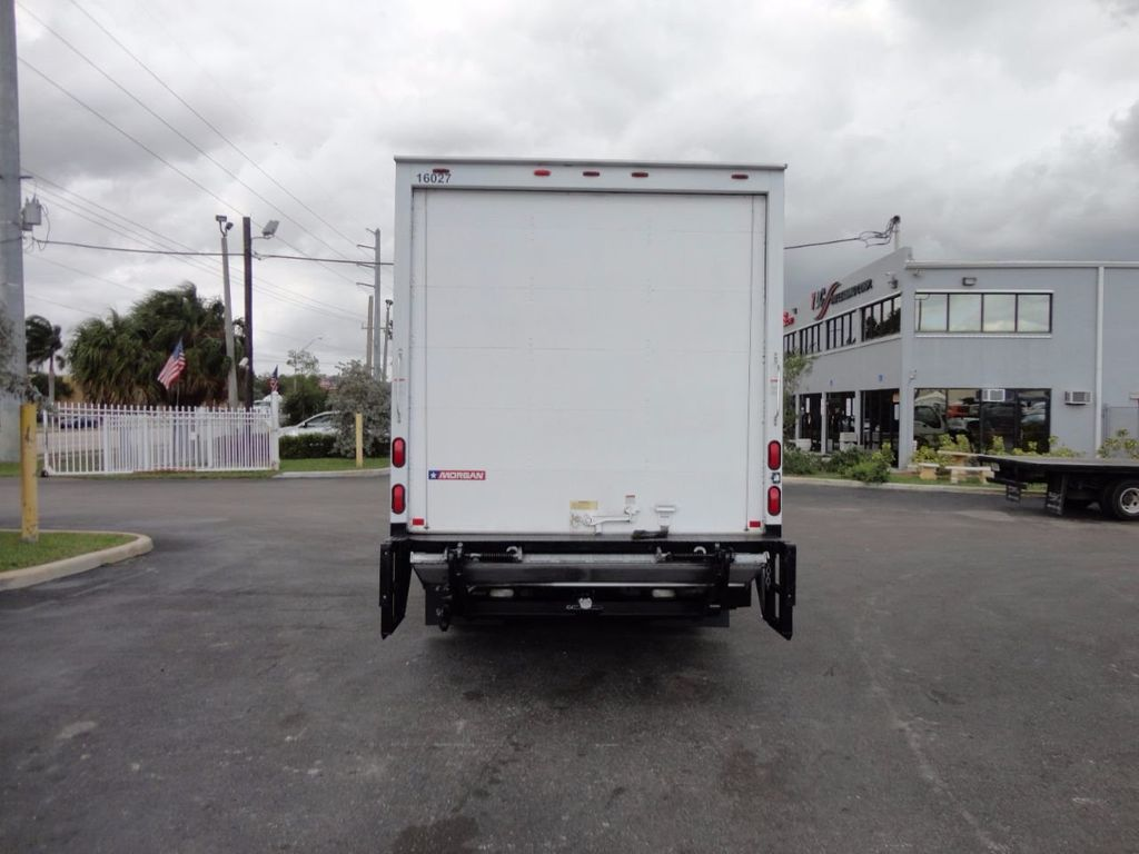 2012 Isuzu NPR HD 16FT DRY BOX.. TUCK UNDER ALUMINUM LIFTGATE - 16156714 - 8
