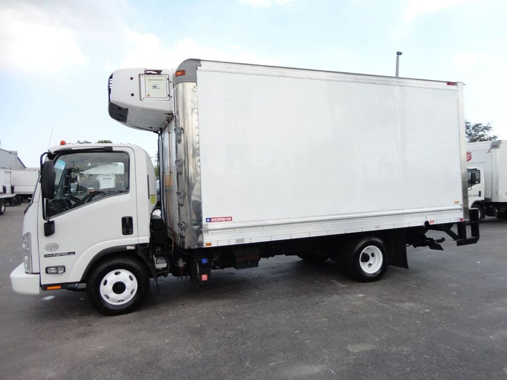 2012 Isuzu NPR HD 16FT REFRIGERATED BOX / SELF CONTAINED CARRIER UNIT - 17538040 - 11