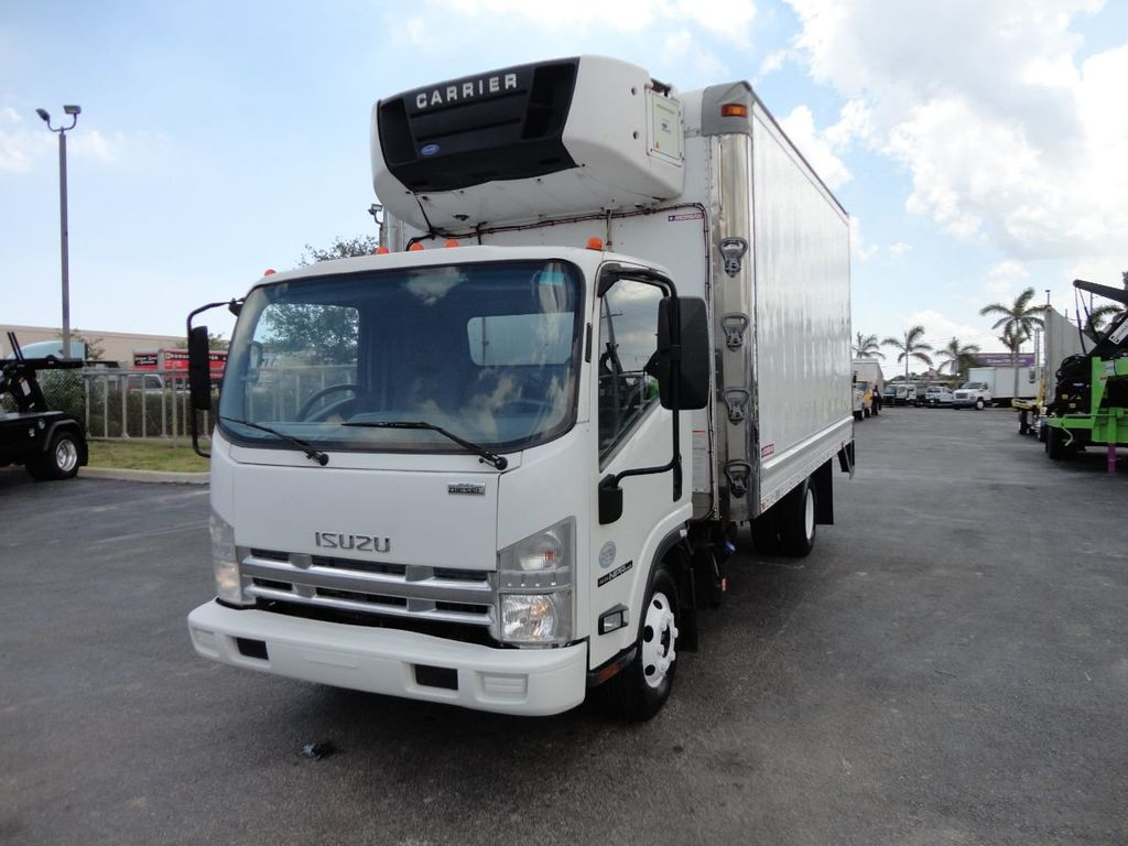 2012 Isuzu NPR HD 16FT REFRIGERATED BOX / SELF CONTAINED CARRIER UNIT - 17538040 - 1