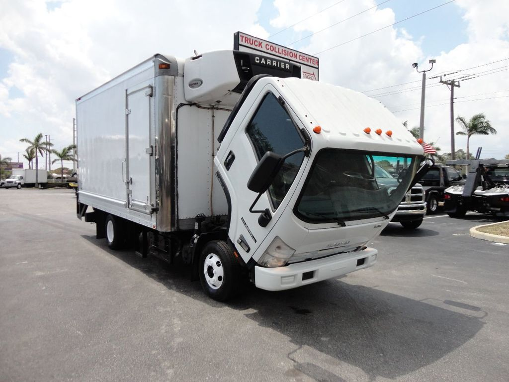 2012 Isuzu NPR HD 16FT REFRIGERATED BOX / SELF CONTAINED CARRIER UNIT - 17538040 - 31