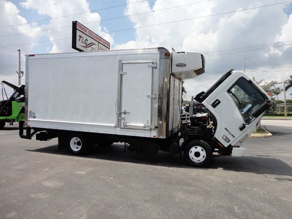 2012 Isuzu NPR HD 16FT REFRIGERATED BOX / SELF CONTAINED CARRIER UNIT - 17538040 - 32