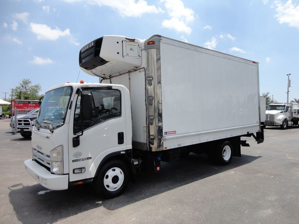 2012 Isuzu NPR HD 16FT REFRIGERATED BOX / SELF CONTAINED CARRIER UNIT - 17538040 - 33