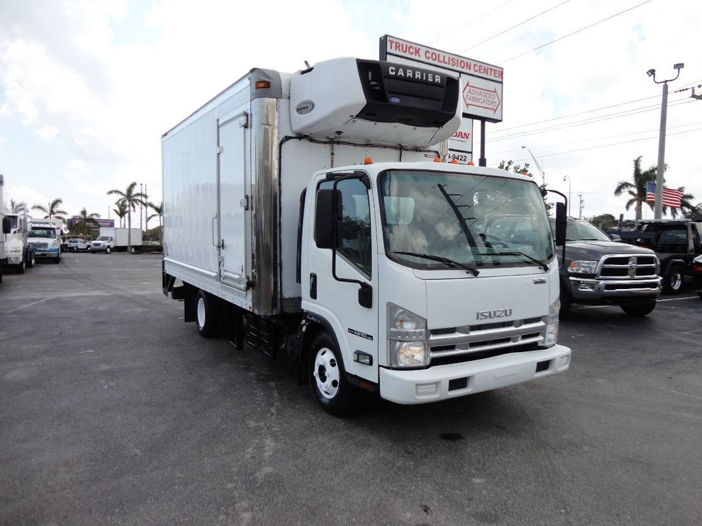 2012 Isuzu NPR HD 16FT REFRIGERATED BOX / SELF CONTAINED CARRIER UNIT - 17538040 - 3