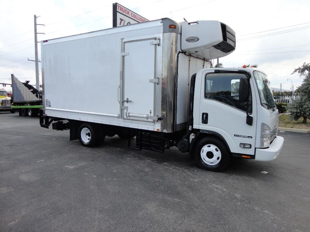 2012 Isuzu NPR HD 16FT REFRIGERATED BOX / SELF CONTAINED CARRIER UNIT - 17538040 - 4