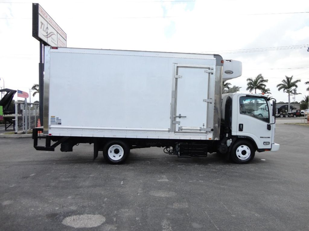 2012 Isuzu NPR HD 16FT REFRIGERATED BOX / SELF CONTAINED CARRIER UNIT - 17538040 - 5