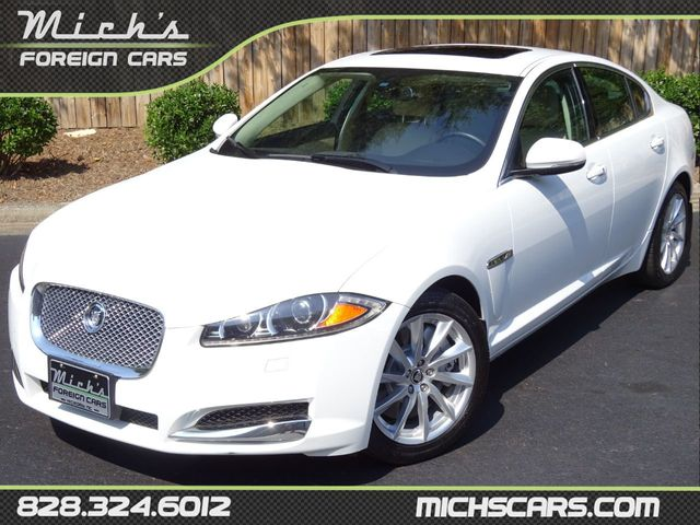 Used Jaguar Xf >> 2012 Used Jaguar Xf Best Colors Low Miles Ventilated