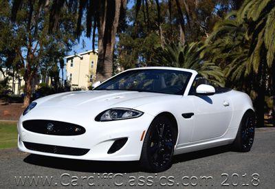 2012 Jaguar XK Jaguar XKR Convertible Supercharged