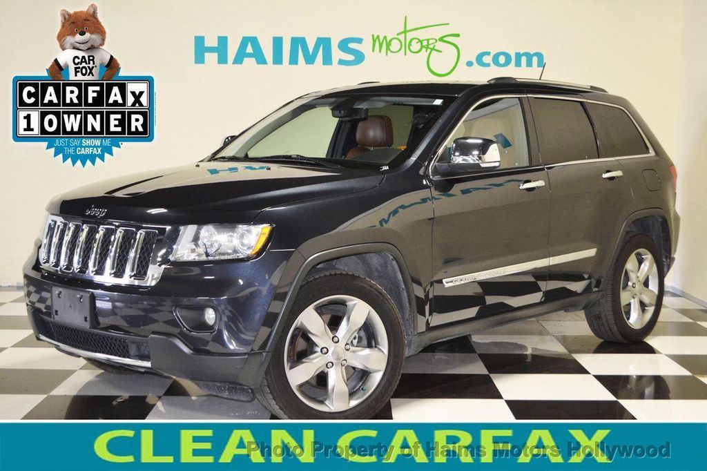 2012 Jeep Grand Cherokee 4WD 4dr Overland Summit   13265194