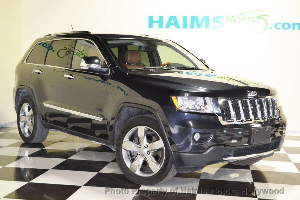 Nice 2012 Jeep Grand Cherokee 4WD 4dr Overland Summit   13265194   2