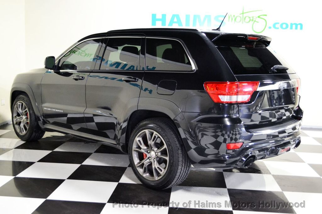 2012 used jeep grand cherokee 4wd 4dr srt8 at haims motors serving fort lauderdale hollywood. Black Bedroom Furniture Sets. Home Design Ideas