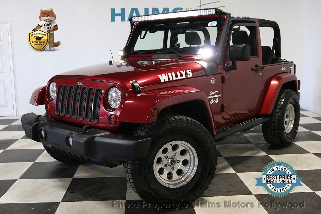 2012 Jeep Wrangler 4WD 2dr Freedom Edition - 18588730 - 0